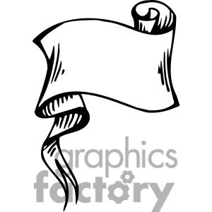 Banner clip art panda. Awards clipart scroll