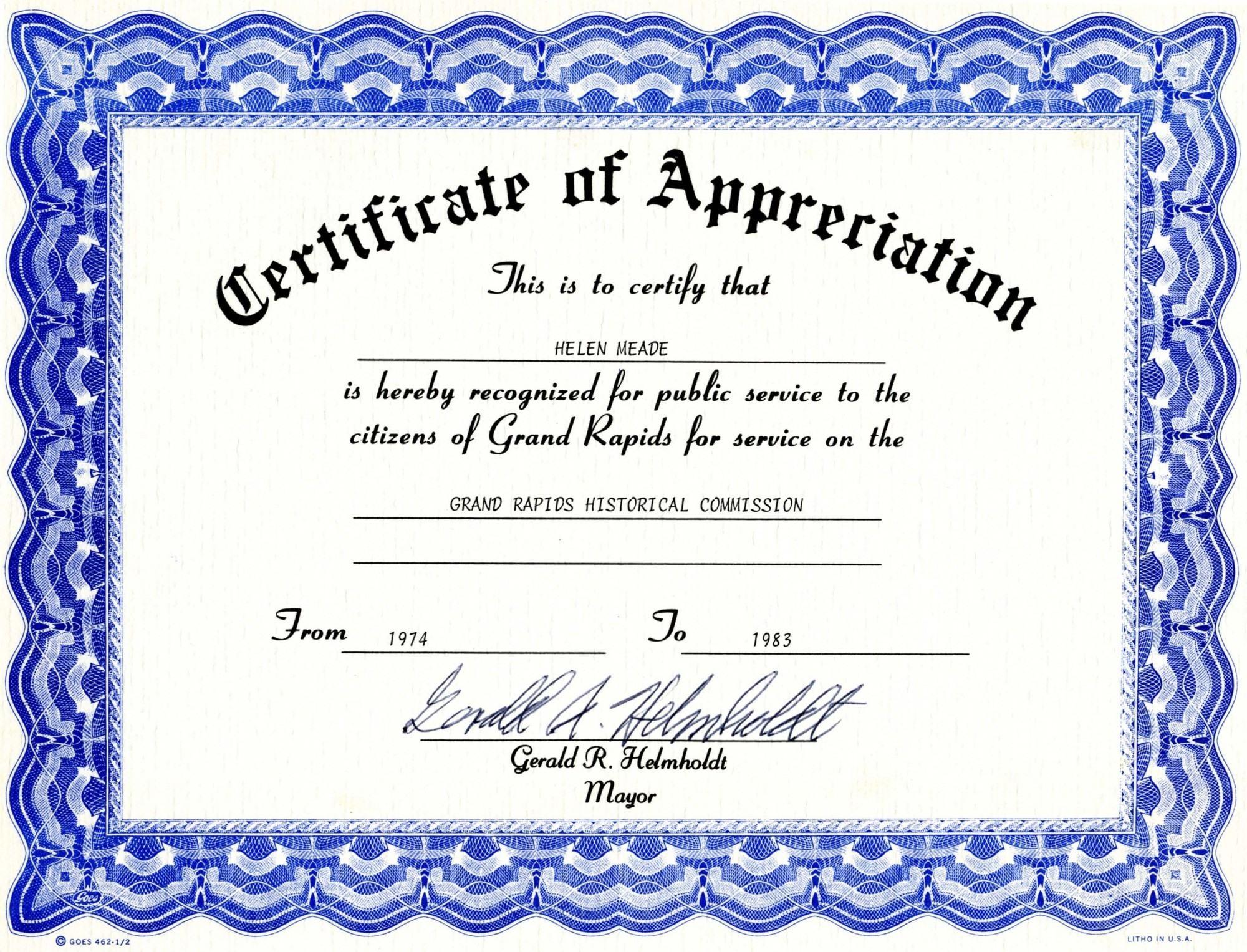 Certificate clipart certification. Service awards certificates template