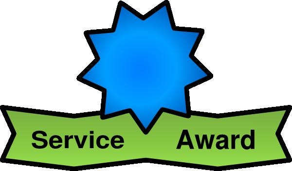 Free . Award clipart service award