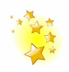 Gold and animated graphics. Award clipart shining star