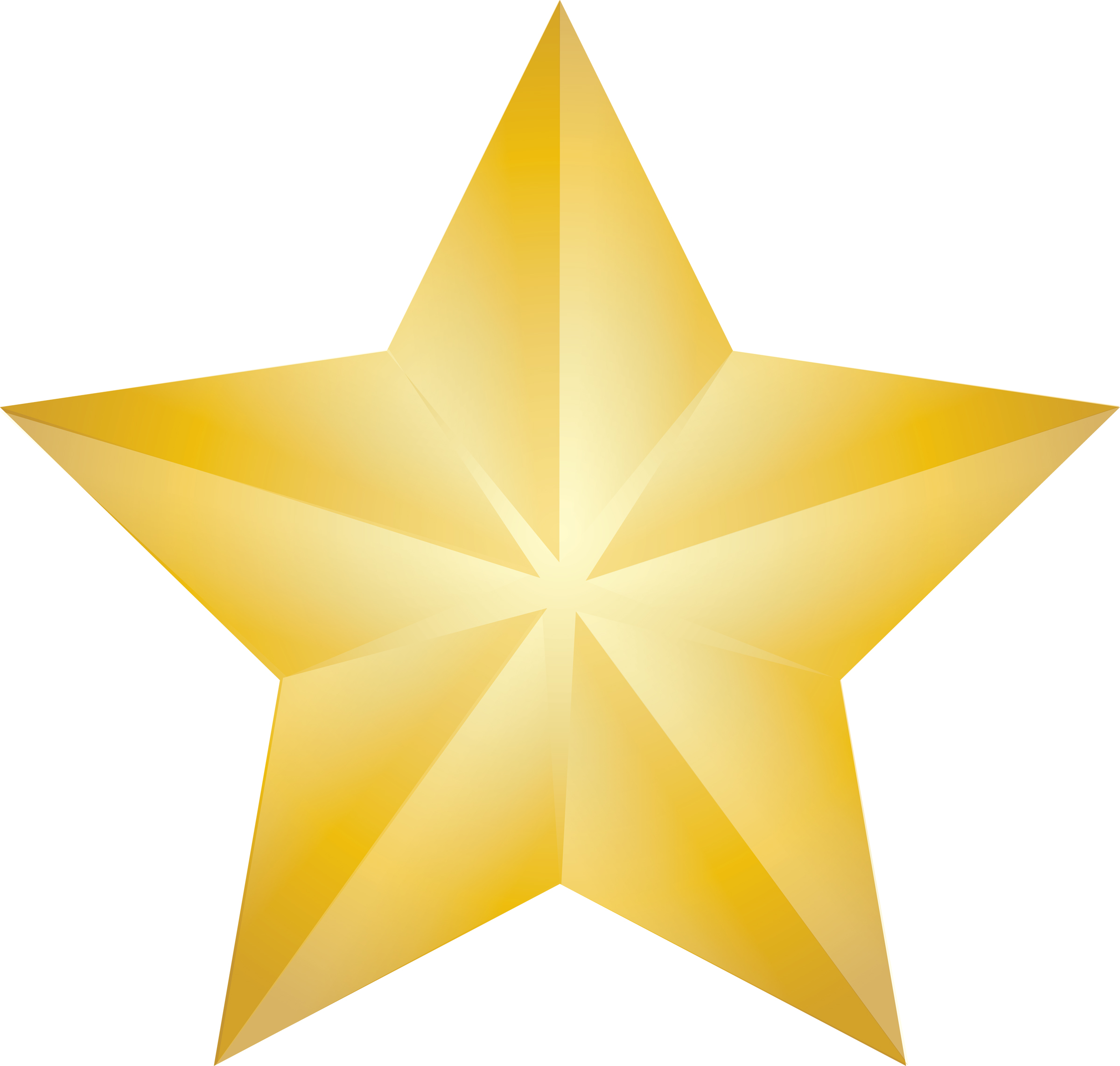 Free picture of a. Award clipart shining star