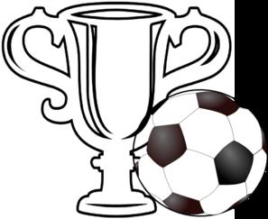 Trophy clip art free. Award clipart soccer