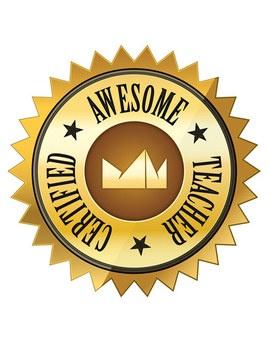 Awesome . Awards clipart teacher