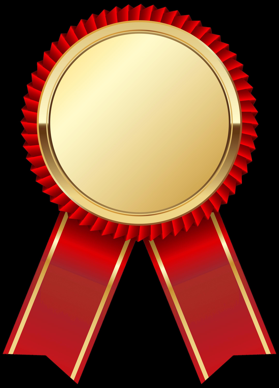 Sports clipart medal. Gold ribbon transparent png