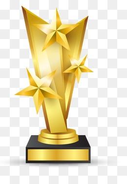 Award clipart trophy. Awards png vectors psd