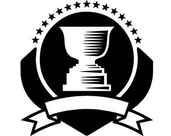 Prize winner etsy trophy. Award clipart victory