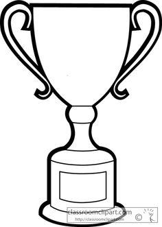 Awards clipart black and white. Award ribbon outline panda