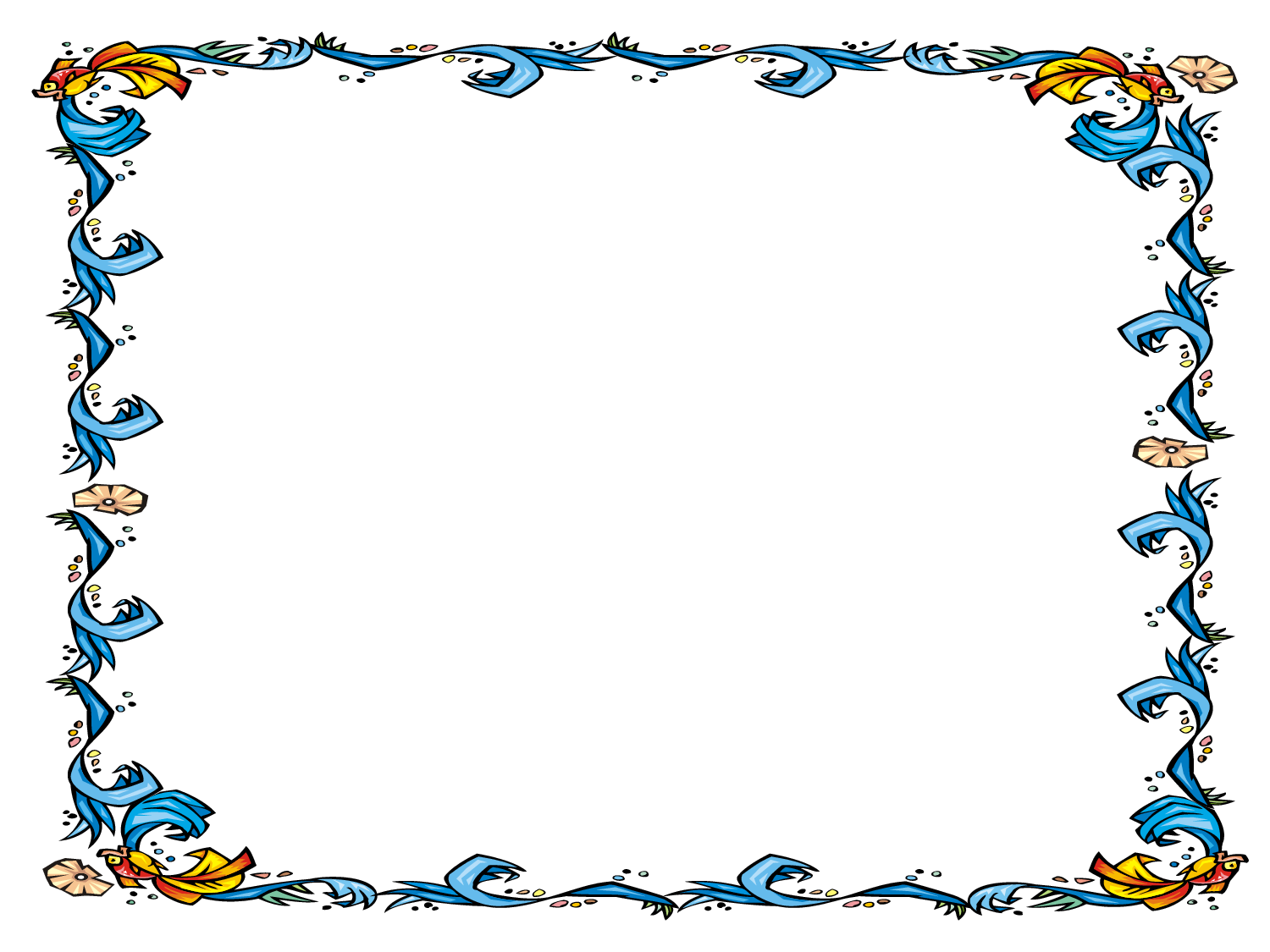 Award clipart borders. Free powerpoint template floral