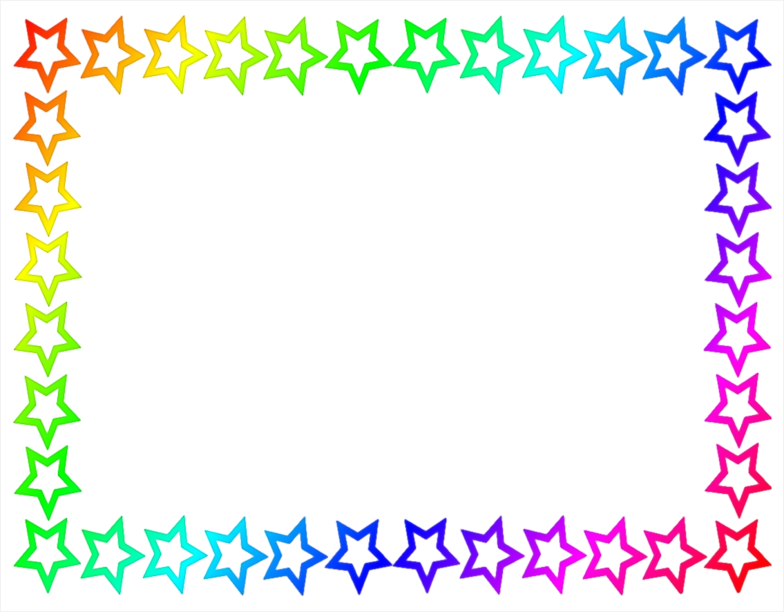 Awards clipart borders. Border template for word