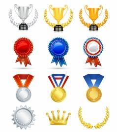 Awards clipart emblem. Badge award vectors stock