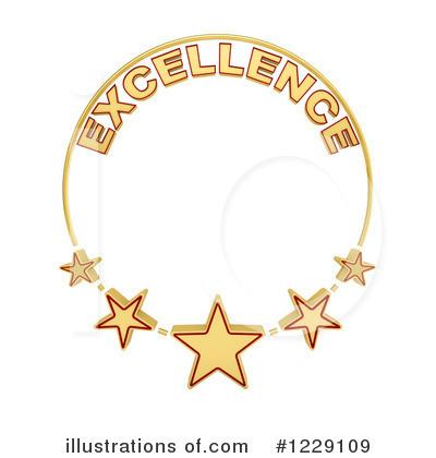 Excellence by stockillustrations royaltyfree. Award clipart illustration
