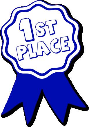 Awards clipart first place. Award ribbon printable panda
