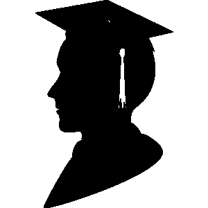 Awards clipart graduation.  b c e