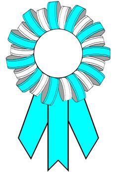 Award ribbons certificates com. Awards clipart graduation