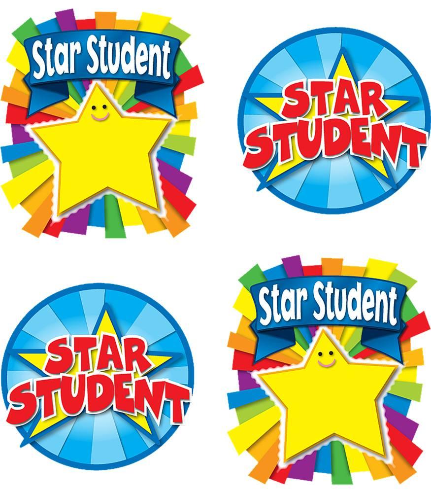 Awards clipart preschool. Star student temporary tattoos
