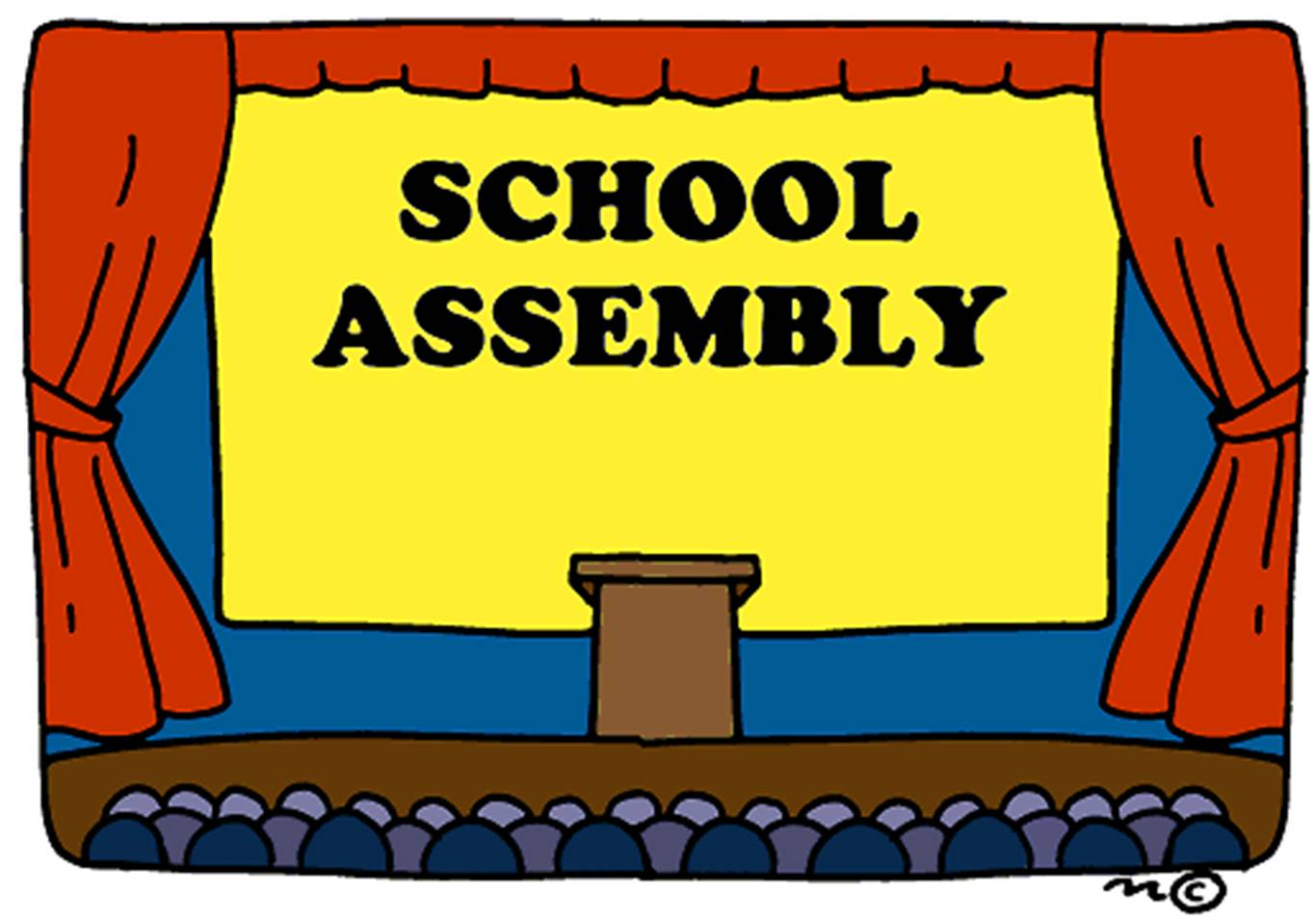 Awards clipart principal's. Monthly assembly