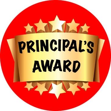 Awards clipart principal's. Principal s good shepherd