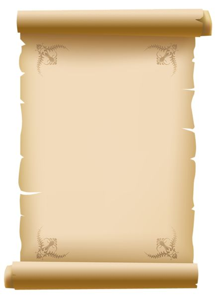 best scrolls png. Certificate clipart scroll