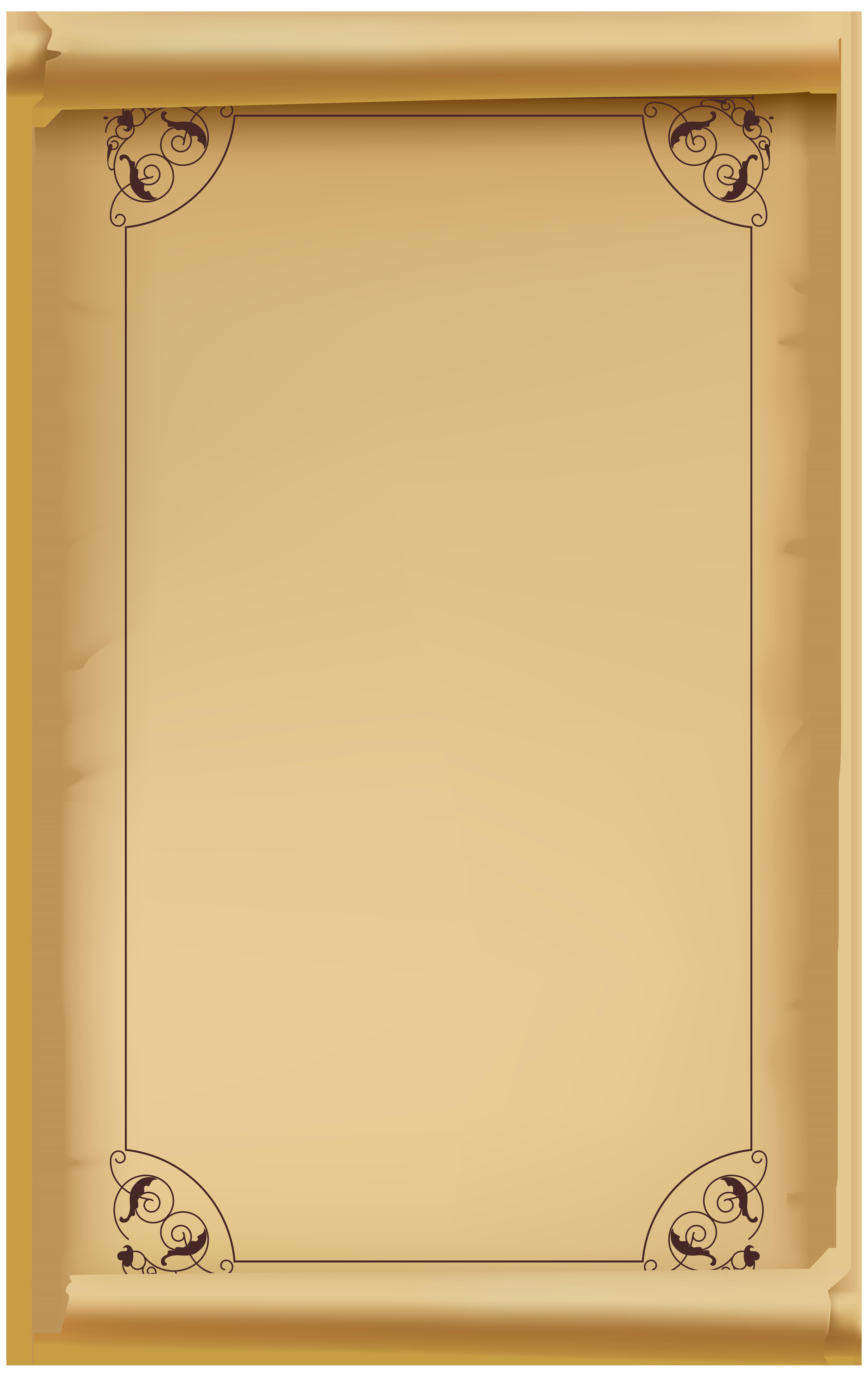 Transparent png clip art. Certificate clipart scroll