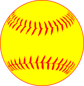 Softball clipart. Clip art panda free