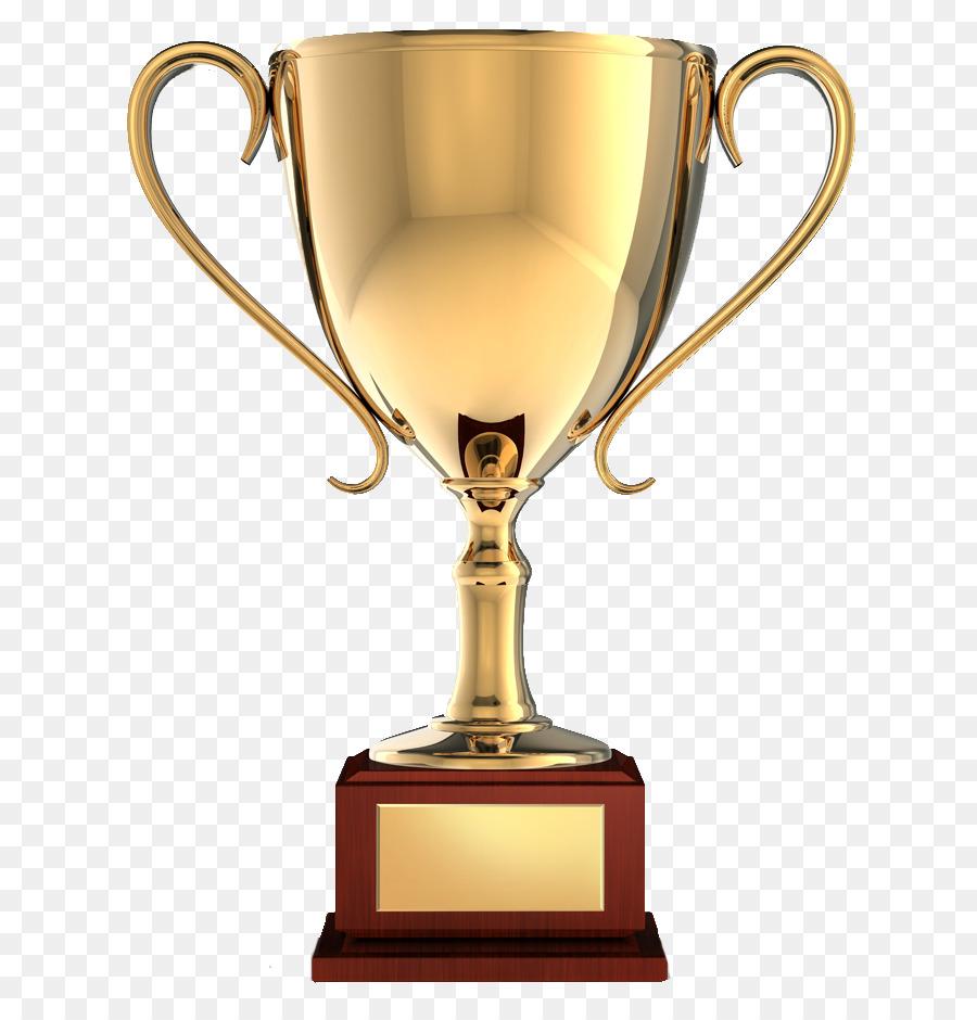 Awards clipart trophy. Gold medal award clip