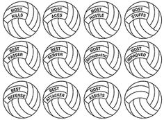 Awards clipart volleyball. A variety of free