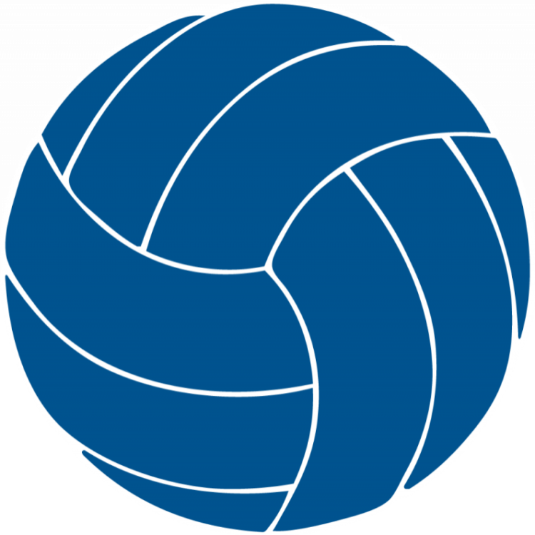 clipart volleyball action