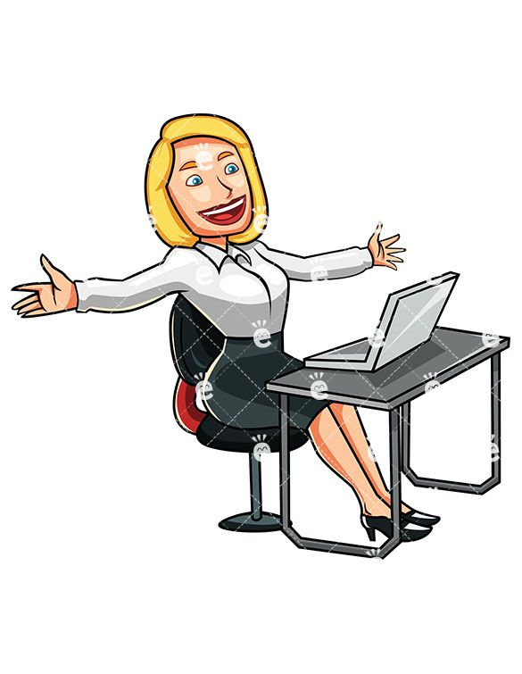 A woman who has. Awesome clipart accomplished