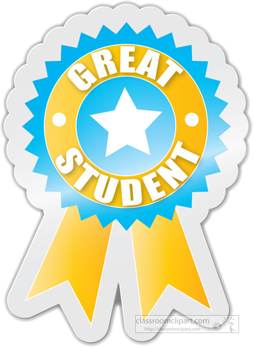 Awesome clipart amazing work. Motivational great student award