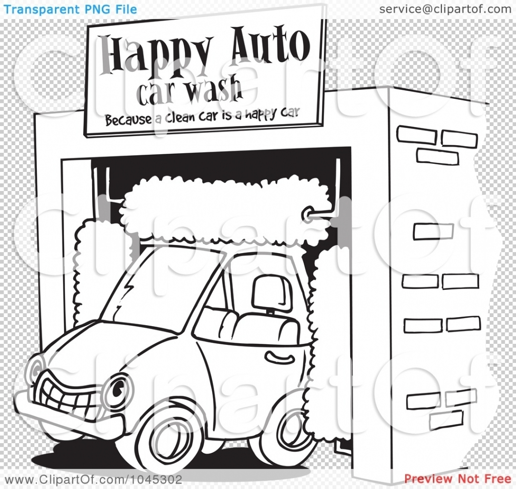 Coloring pages royalty free. Awesome clipart car wash