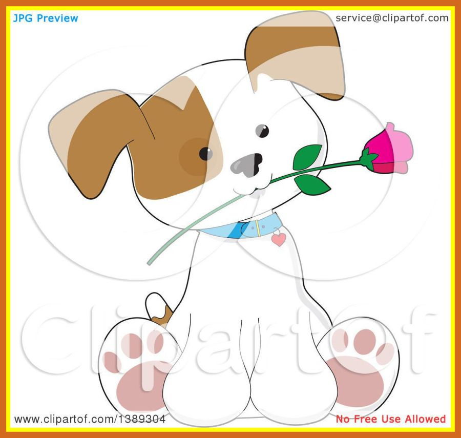 Of a cute puppy. Awesome clipart cartoon