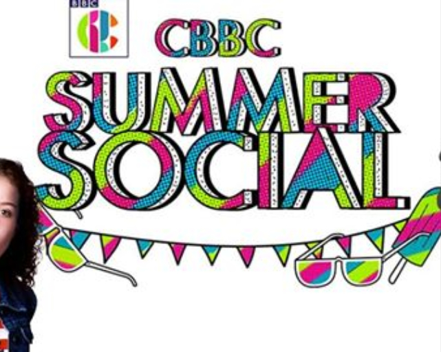 Awesome clipart cbbc. Summer social festival in