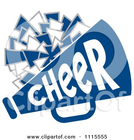 Cheer clipart blue. Cheerleader backgrounds pom and
