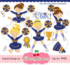 Hey i found this. Awesome clipart cheerleader