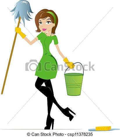 Awesome clipart cleaningclip. House cleaning clip art