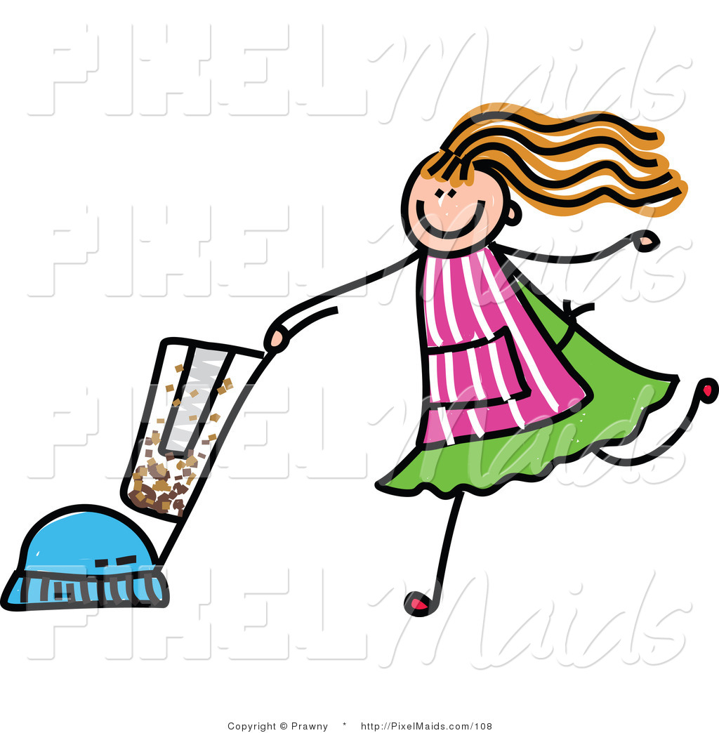 Free clip art children. Maid clipart kid