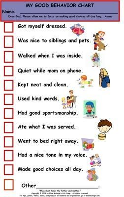 best charts images. Awesome clipart good behavior