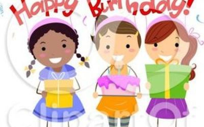 Young clipart relative. Happy birthday images