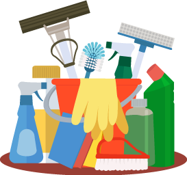 Clean clipart housekeeping supply. Cleaning supplies free download
