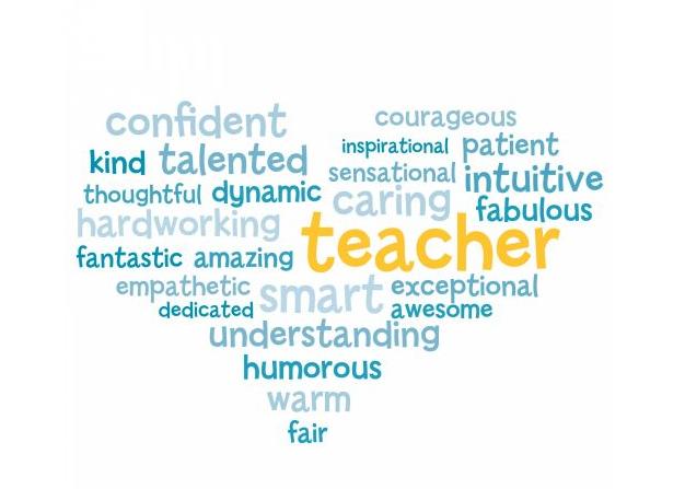 Appreciation word cloud download. Words clipart teacher