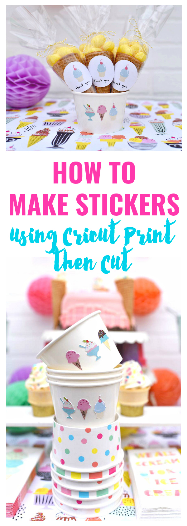 How to make stickers. Awesome clipart won