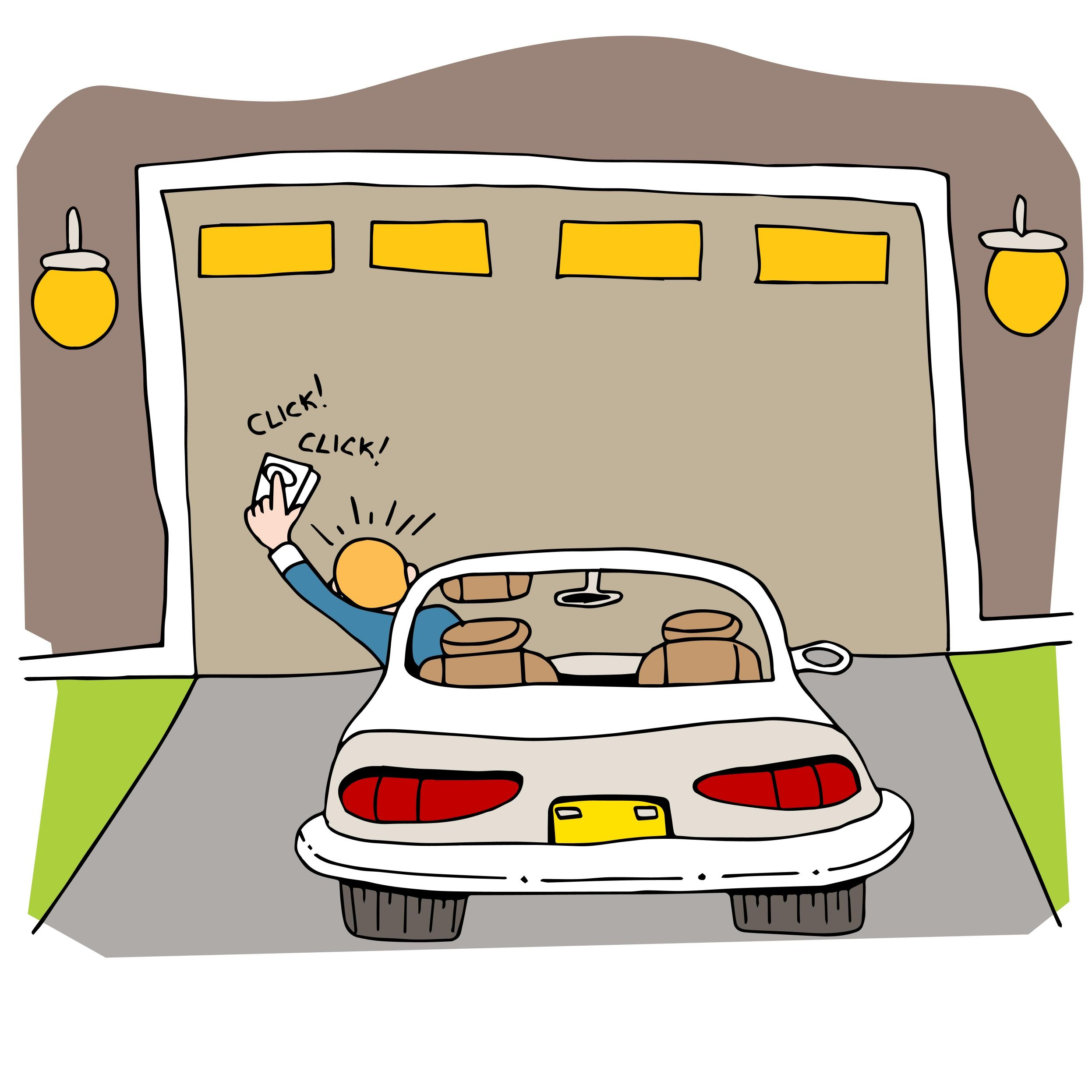 Reasons your garage door. Awesome clipart won
