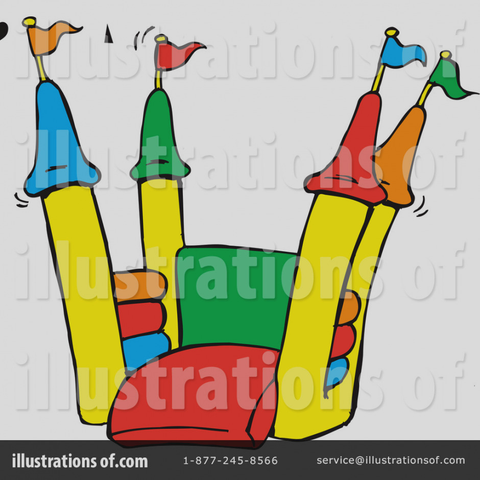 Bounce house clip art. Awesome clipart wonderful