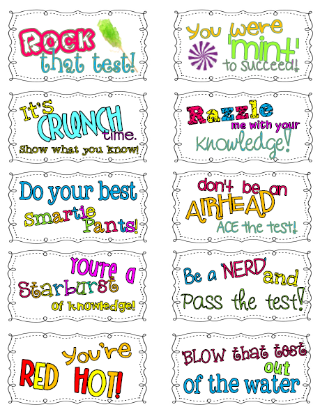 Awesome clipart word encouragement. The cure for test
