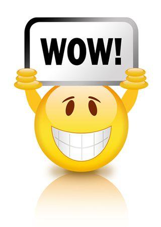Wow clipart emoji. Smiley smileys and emojis