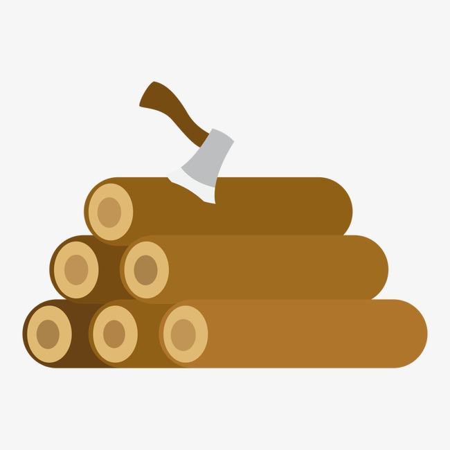 Firewood ax wood png. Axe clipart cartoon