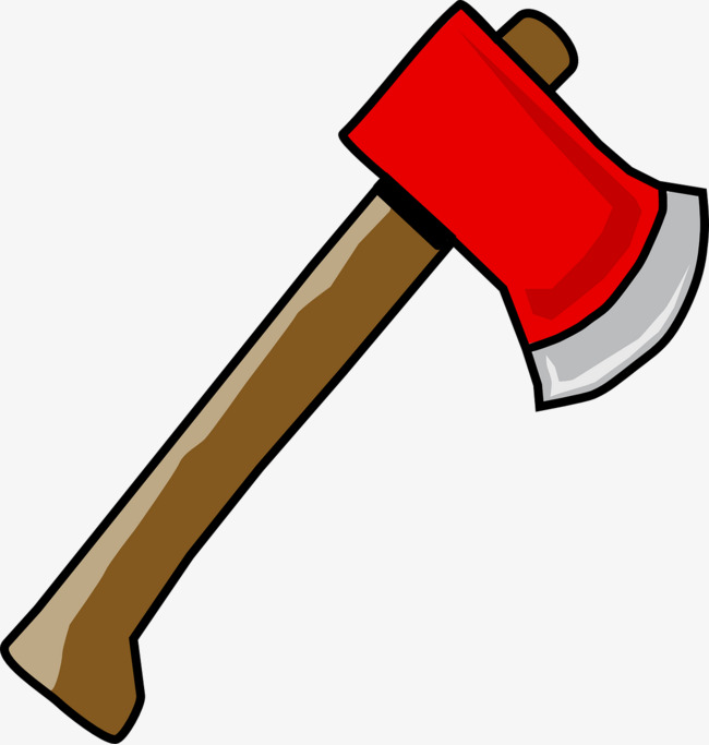 Ax clipart. Red sharp png image