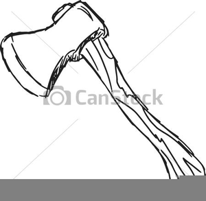 Free images at clker. Ax clipart black and white