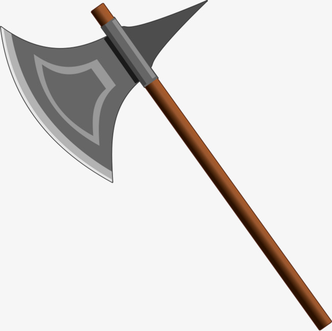 Gray png image and. Ax clipart cartoon