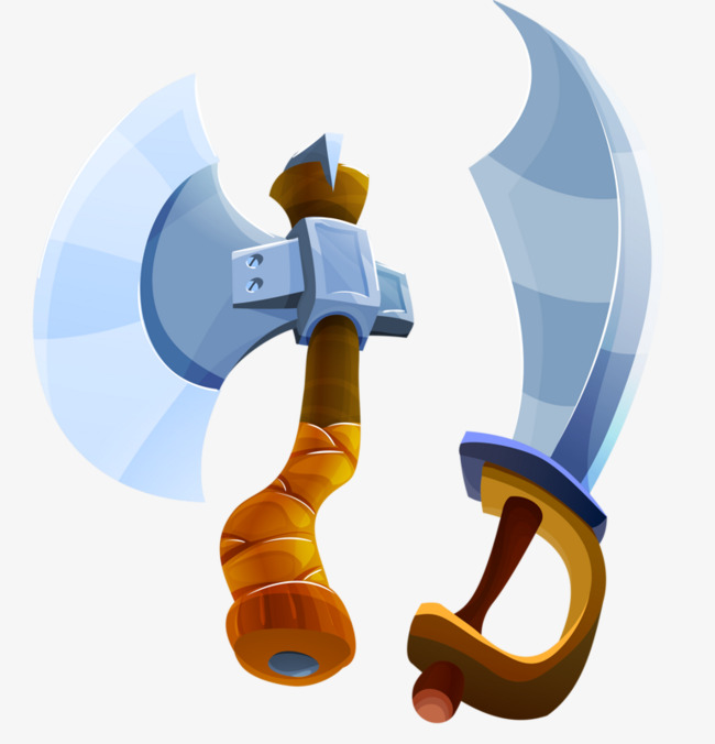 Ax clipart cartoon. And broadsword wood png